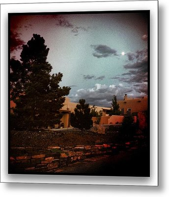Dusk On My Street Metal Print by Paul Cutright
