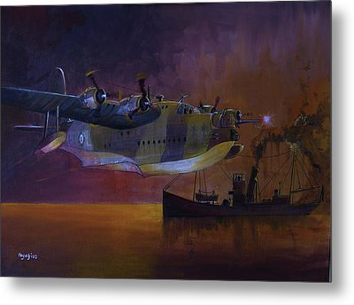 Duty Done Metal Print by Ray Agius