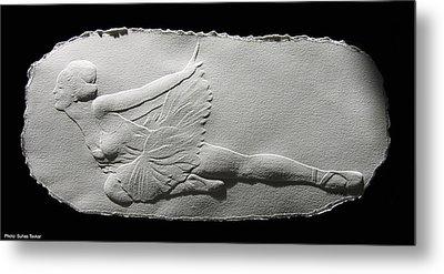 Dying Swan Metal Print by Suhas Tavkar