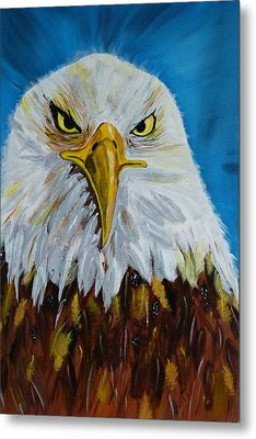 Eagle Metal Print by Ismeta Gruenwald