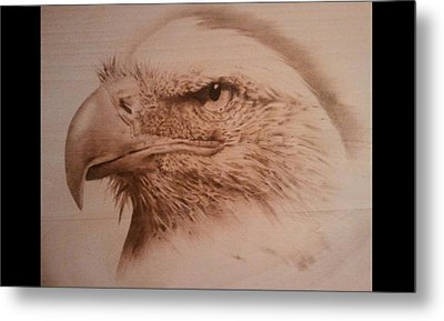 Eagle Metal Print by Rodney Balderas