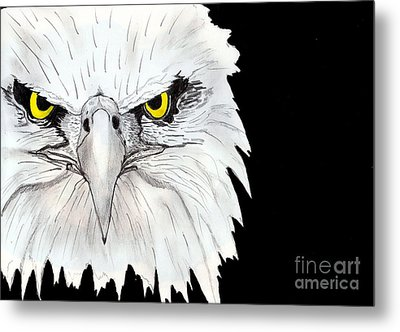 Eagle Metal Print by Shashi Kumar