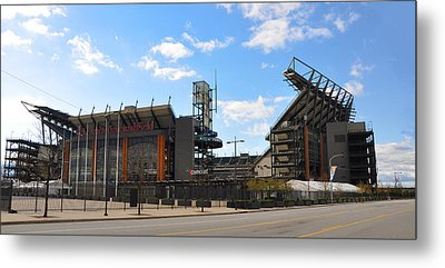 Eagles - The Linc Metal Print by Bill Cannon