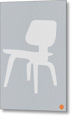 Eames Plywood Chair Metal Print by Naxart Studio