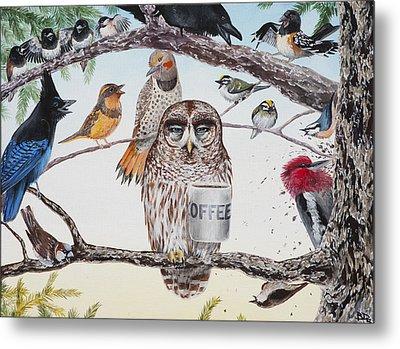 Early Birds Metal Print