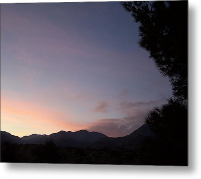 Metal Print featuring the photograph Early Evening Sky by Christine Drake