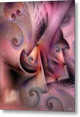 Metal Print featuring the digital art Early Influences by Casey Kotas