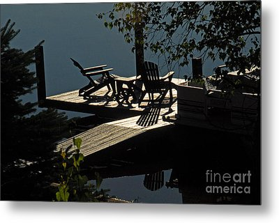 Metal Print featuring the photograph Early Morning At The Lake by Cindy Manero