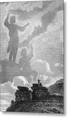 Early Sighting Of Brocken Spectres, 1797 Metal Print by