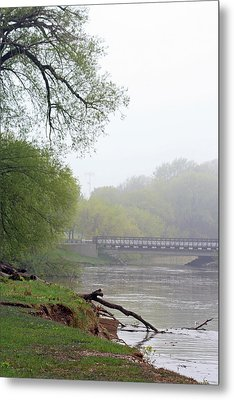 Metal Print featuring the photograph Early Spring Morning Fog by Kay Novy