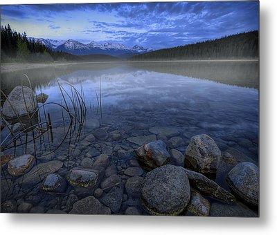 Early Summer Morning On Patricia Lake Metal Print by Dan Jurak