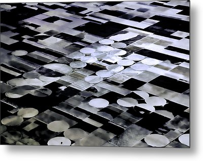 Earth Geometry2 Metal Print