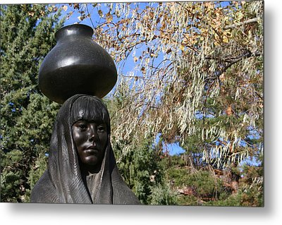 Metal Print featuring the photograph Earth Mother by Laurel Talabere