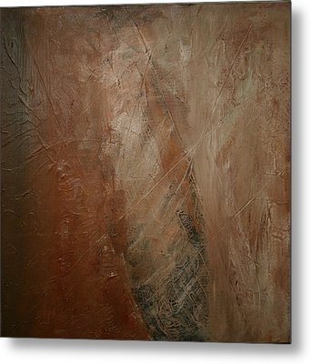 Earthen Metal Print by Dolores  Deal