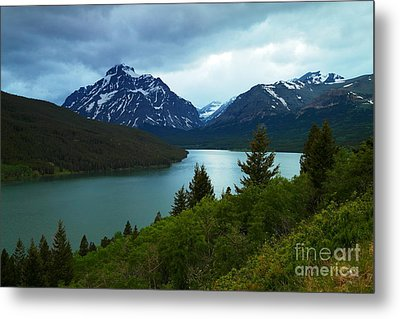 East Glacier Metal Print by Jeff Swan