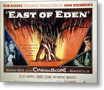 East Of Eden, James Dean, Lois Smith Metal Print