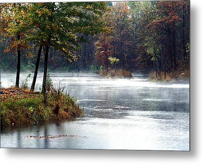 Metal Print featuring the photograph East Twin Pit by Jack R Brock