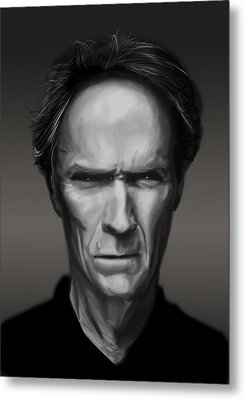 Eastwood Metal Print