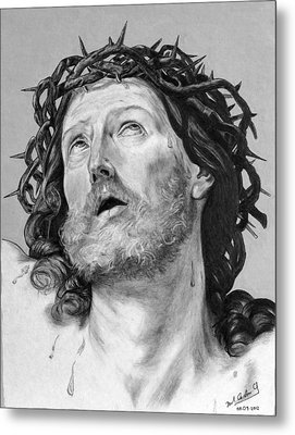 Ecce Homo Metal Print by Miguel Rodriguez
