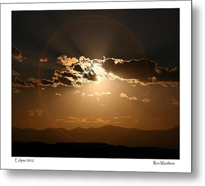 Eclipse 2012 Metal Print