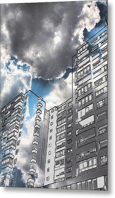 Ecological Architecture Metal Print by Angel Jesus De la Fuente