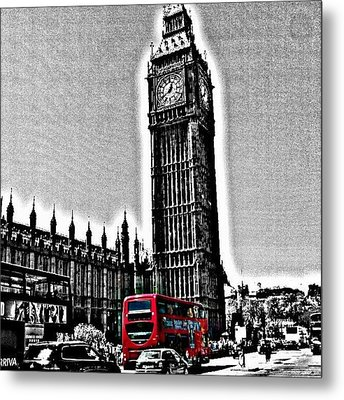 Edited Photo, May 2012 | #london Metal Print