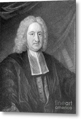 Edmond Halley, English Polymath Metal Print by Photo Researchers