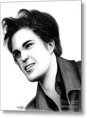 Edward Cullen Metal Print by Crystal Rosene