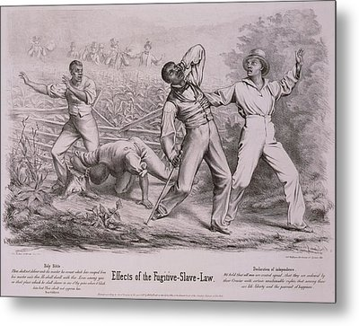 Effects Of The Fugitive-slave-law Metal Print by Everett