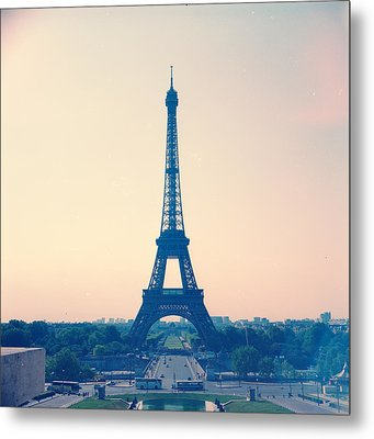 Eiffel Tower Metal Print by Antimoloko
