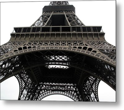 Eiffel Tower Metal Print by G Fletcher