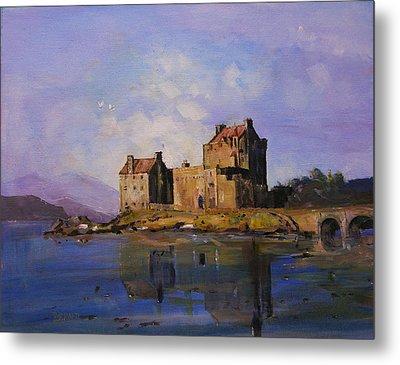Eilean Donan Castle Metal Print by Peter Tarrant