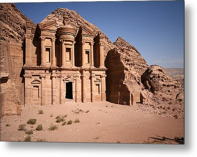 El Deir, The Monastery, Petra, Jordan Metal Print by Joe & Clair Carnegie / Libyan Soup