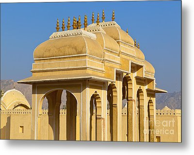 Elaborate Arch Structures In India Metal Print by Inti St. Clair
