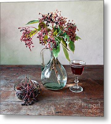 Elderberries 08 Metal Print