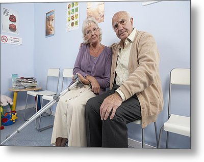 Elderly Patients Metal Print by Adam Gault
