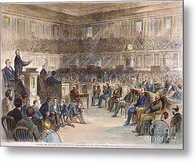 Electoral Commission, 1877 Metal Print by Granger
