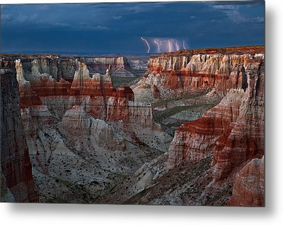 Electric Canyon Metal Print by Guy Schmickle