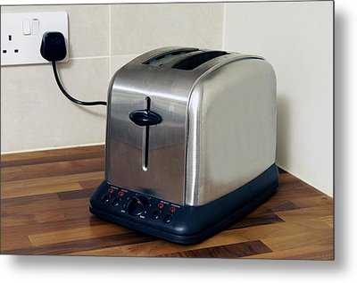 Electric Toaster Metal Print by Johnny Greig