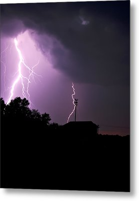Electrifying Sky  Metal Print