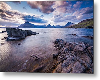 Elgol Sunset Metal Print