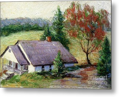 Ellijay Home Metal Print