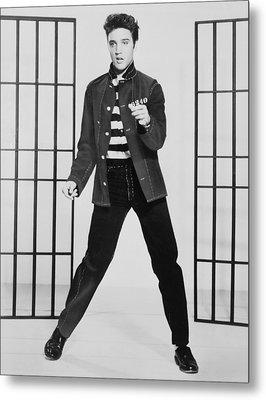 Elvis Presley 1935-1977, Publicity Metal Print by Everett