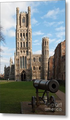 Metal Print featuring the photograph Ely by Andrew  Michael