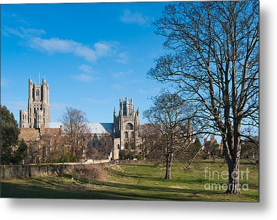 Metal Print featuring the photograph Ely Scenic by Andrew  Michael