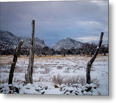 Metal Print featuring the photograph Embudo Canyon by Atom Crawford