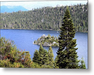 Metal Print featuring the photograph Emerald Bay State Park by Anne Raczkowski