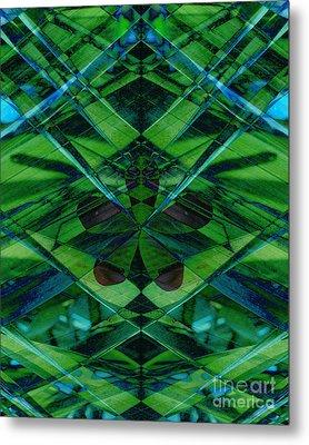 Emerald Cut Metal Print by Ann Powell