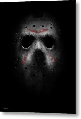 Emerging From Darkness Metal Print by Ronald Barba