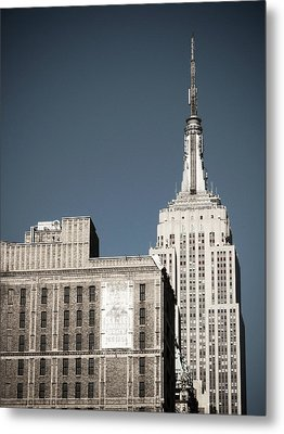Empire State 2 Metal Print by Darren Martin